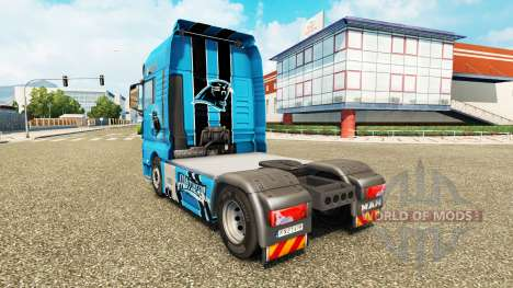 The skin of the NFC South for the tractor MAN for Euro Truck Simulator 2