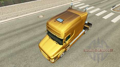 Metallic skin for Scania T truck for Euro Truck Simulator 2