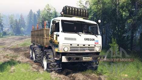 KamAZ-43114 v5.0 for Spin Tires