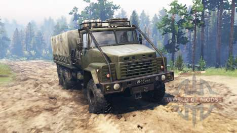 KrAZ 260 v2.0 for Spin Tires