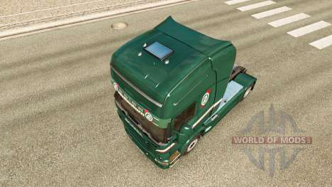 Wallenborn skin for Scania truck for Euro Truck Simulator 2