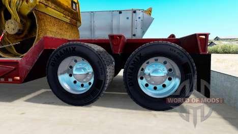 Chrome plated wheel rims of semi-trailers for American Truck Simulator