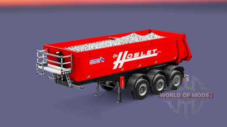 Semi-trailer tipper Schmitz Cargobull Hoslet for Euro Truck Simulator 2