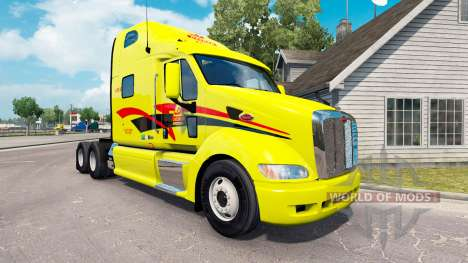 Skin Decker on tractor Peterbilt 387 for American Truck Simulator
