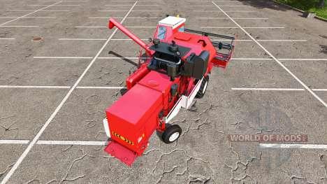 Rostselmash SK-5МЭ-1 Niva-Effect red v1.1 for Farming Simulator 2017