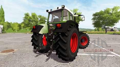 Fendt Favorit 515C Turbomatic for Farming Simulator 2017