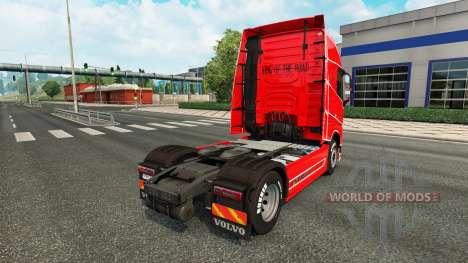 Simple skin for Volvo truck for Euro Truck Simulator 2