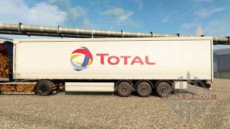Skin Total on semi for Euro Truck Simulator 2