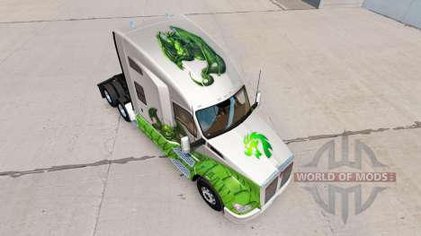 Skin Dragon for truck Kenworth for American Truck Simulator