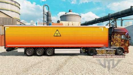 Skin Unclear on semi for Euro Truck Simulator 2