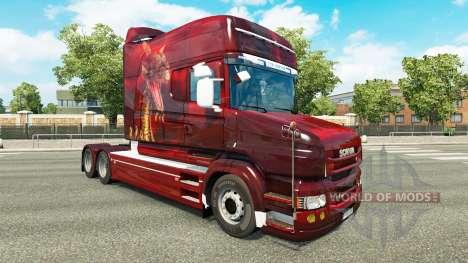 Skin Dragon for truck Scania T for Euro Truck Simulator 2