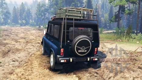 UAZ-315195 hunter for Spin Tires