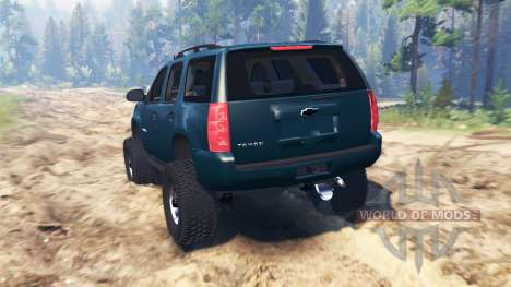 Chevrolet Tahoe 2008 for Spin Tires