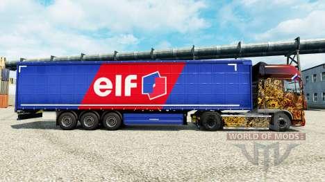 Skin Elf on semi for Euro Truck Simulator 2