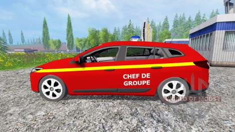 Renault Megane Estate [feuerwehr] for Farming Simulator 2015