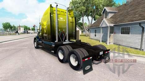 Skin Instinct on the tractor Peterbilt 579 for American Truck Simulator