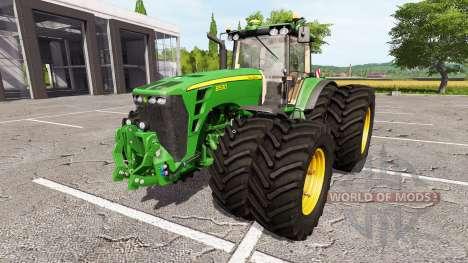 John Deere 8530 v2.0 for Farming Simulator 2017