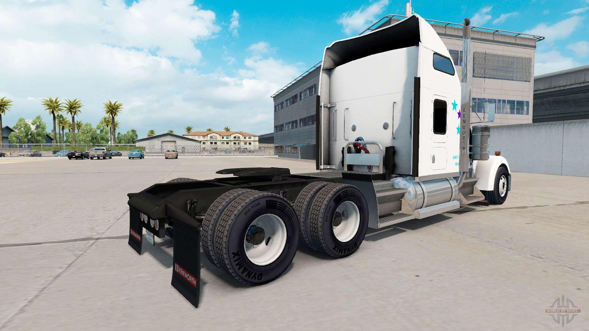 Skin Fedex Custom Critical Na Kenworth W900 For American Truck