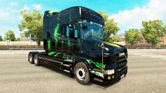Monster Energy skin for the Scania T tractor unit for Euro Truck Simulator 2