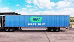 Skin Best Buy extended trailer for American Truck Simulator