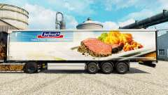 Bofrost skin for trailers for Euro Truck Simulator 2