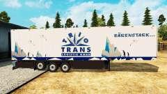 Semitrailer refrigerator Schmitz Trio Trans for Euro Truck Simulator 2