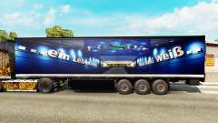 Skin FC Schalke 04 on semi for Euro Truck Simulator 2