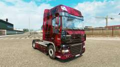 Skin Weltall on tractor DAF for Euro Truck Simulator 2