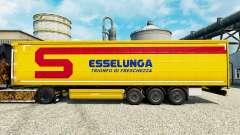 Skin Esselunga S. p.A. on semi for Euro Truck Simulator 2