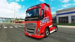 Heavy Haulage skin for Volvo truck for Euro Truck Simulator 2