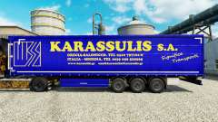 Skin Karassulis S. A. on semi-trailers for Euro Truck Simulator 2
