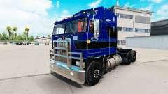 Skin on Rawhide Trucking LLC truck tractor Kenworth K100 for American Truck Simulator