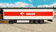 Skin Orlen for trailers for Euro Truck Simulator 2