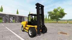 Komatsu EX50 for Farming Simulator 2017