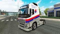 Malasian Airlines skin for Volvo truck for Euro Truck Simulator 2