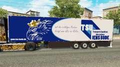 Semitrailer refrigerator Schmitz Jens Bode for Euro Truck Simulator 2