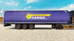 Skin PKS International Cargo S. A. on the trailer for Euro Truck Simulator 2