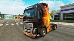 Cubical Flare skin for Volvo truck for Euro Truck Simulator 2