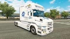 SovTransAuto skin for Scania T truck for Euro Truck Simulator 2
