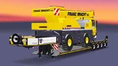 Low sweep truck crane Liebherr LTM 1030 for Euro Truck Simulator 2