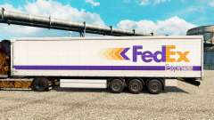 FedEx Express skin for trailers for Euro Truck Simulator 2