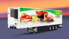 Semitrailer reefer EN Wiesenhof for Euro Truck Simulator 2