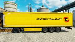 Skin Centrum Transport on semi-trailers for Euro Truck Simulator 2