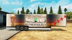 The semitrailer-the refrigerator World Cup 2014 for Euro Truck Simulator 2