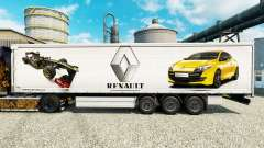 Skin Renault F1 Team for the semi for Euro Truck Simulator 2