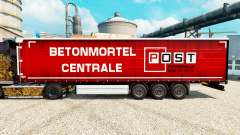 Skin Post Harderwijk on semi for Euro Truck Simulator 2