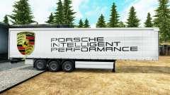 Skin Porsche for trailers for Euro Truck Simulator 2
