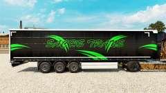 Skin Sachs Trans on a curtain semi-trailer for Euro Truck Simulator 2