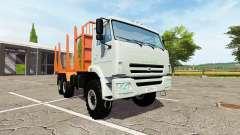 KAMAZ-43118-24 truck for Farming Simulator 2017