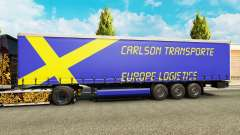 Carlson Transporte skin for trailers for Euro Truck Simulator 2